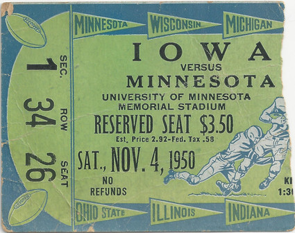 1950 @ Minnesota Ticket