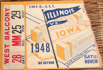 1948 @ Illinois Ticket