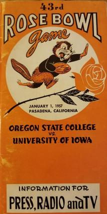 1957 bowl media guide