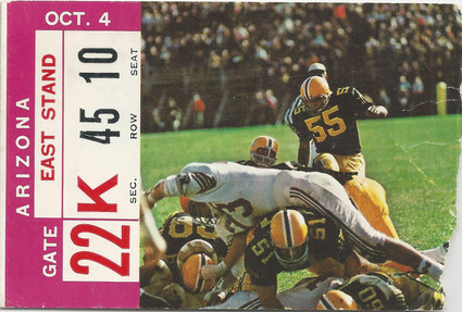 1969 Arizona Ticket