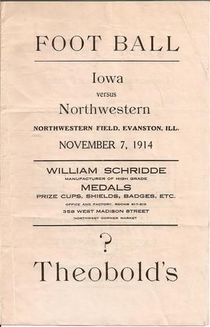 1914 @ Northwestern