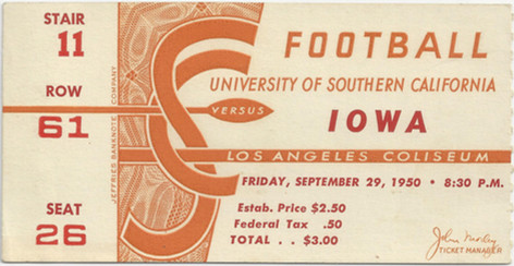 1950 @ USC ticket