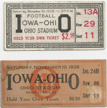 1928 @ Ohio State Tickets