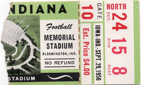 1956 @ Indiana Ticket