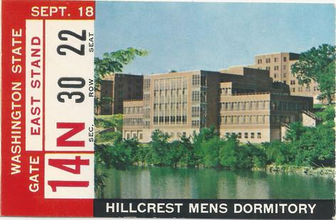 1965 Washington St Ticket