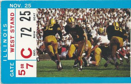 1967 Illinois Ticket