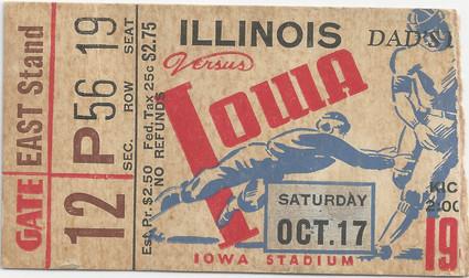 1942 Illinois Ticket