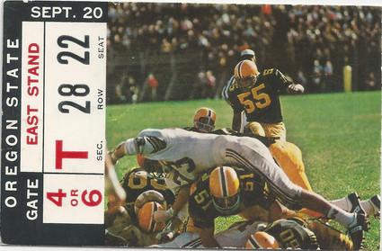 1969 Oregon St. Ticket