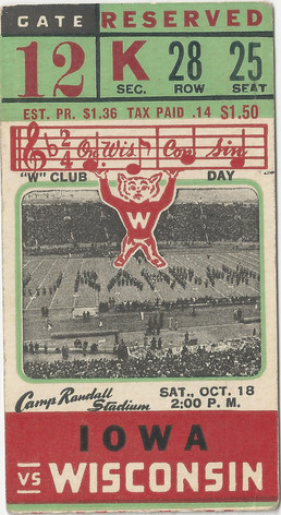 1941 @ Wisconsin Ticket