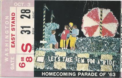 1964 Washington Ticket
