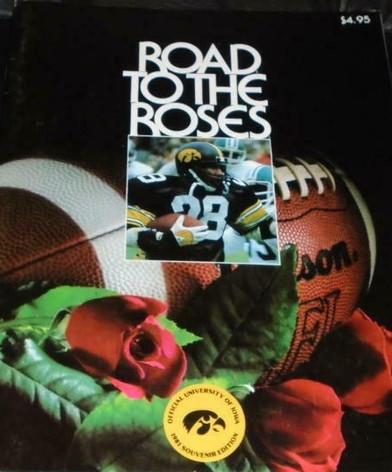1982 rose bowl media guide