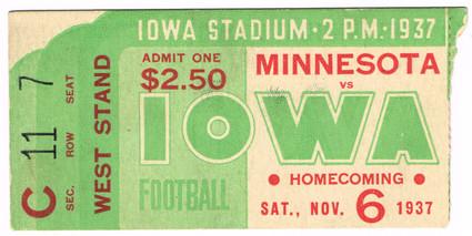 37 Minnesota Ticket