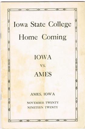 1920 @ Ames
