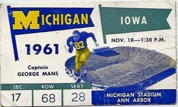 1961 @ Michigan Ticket