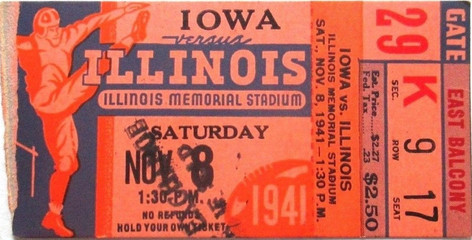 1941 @ Illinois Ticket