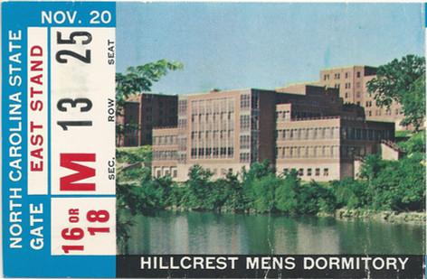 1965 NC St Ticket