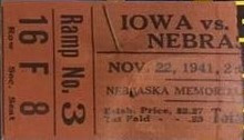 1941 @ Nebraska Ticket