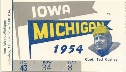 1954 @ Michigan Ticket