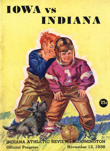 1938 @ Indiana