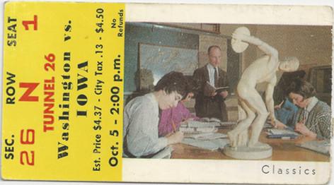 1963 @ Washington Ticket