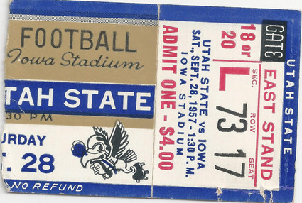 1957 Utah St Ticket