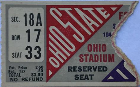 1944 @ Ohio State Ticket