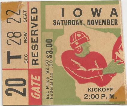 1944 @ Wisconsin Ticket
