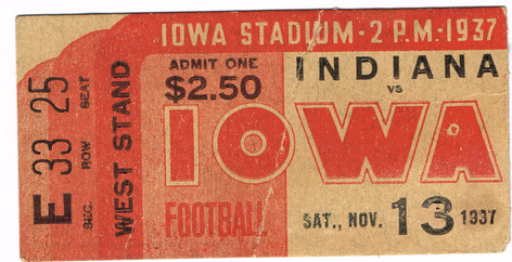 37 Indiana Ticket