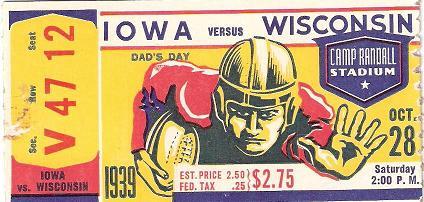 1939 Wisconsin Stub.JPG
