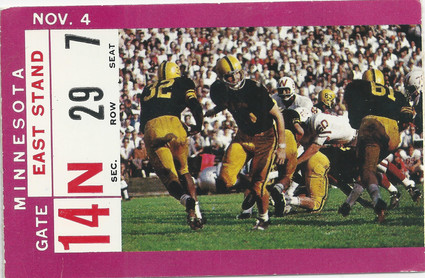 1967 Minnesota Ticket