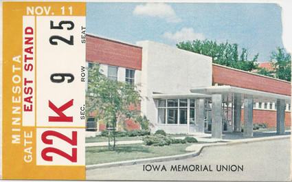 1961 Minnesota Ticket