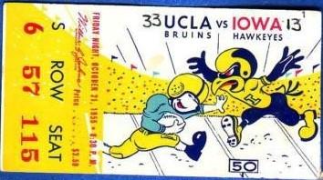 1955 @ UCLA Ticket