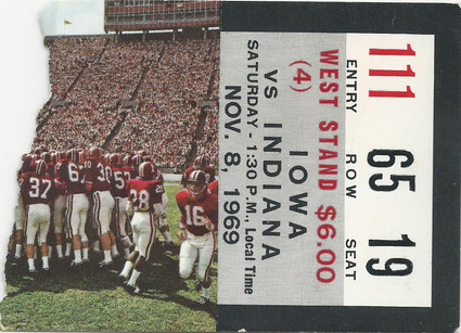 1969 @ Indiana Ticket