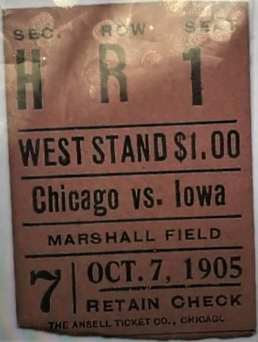1905 @ Chicago Ticket