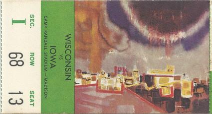 1965 @ Wisconsin Ticket