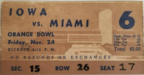 1950 @ Miami Ticket