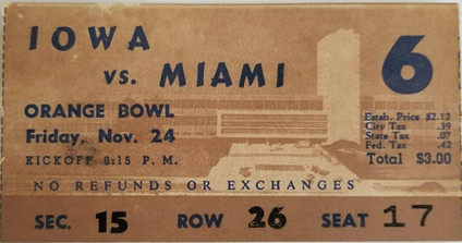 1950 @ Miami Ticket