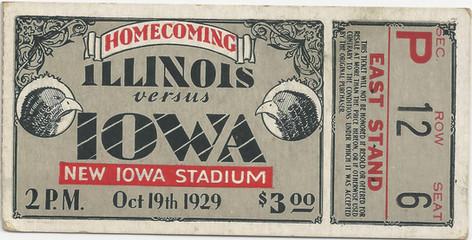 1929 Illinois Ticket