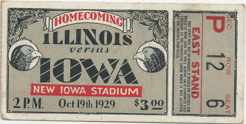 1929 Illinois Ticket