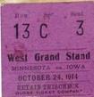 1914 Minnesota Ticket