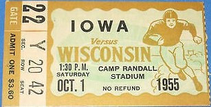 1955 @ Wisconsin Ticket