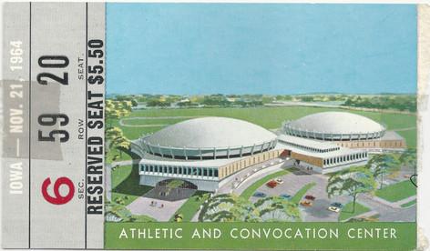 1964 @ Notre Dame Ticket