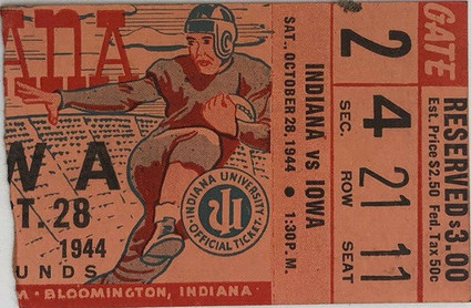 1944 @ Indiana Ticket