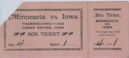 1904 Minnesota @ Cedar Rapids