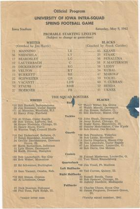 1942 Spring Game
