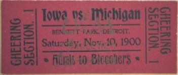 1900 @ Michigan Ticket