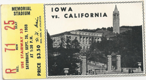 1959 @ California Ticket
