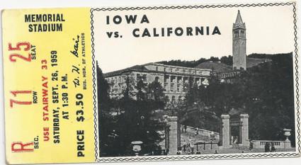 1959 @ California Ticket