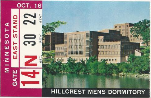 1965 Minnesota Ticket