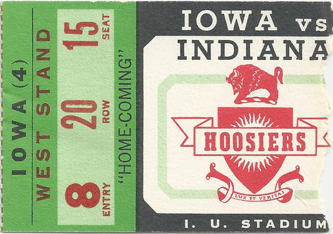 1965 @ Indiana Ticket